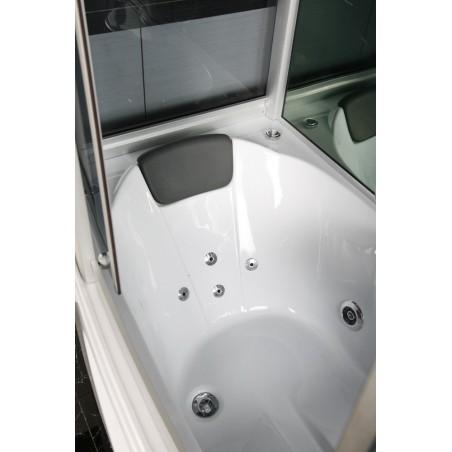 Cabina dus cu hidromasaj si sauna umeda model SaraS 165 x 85 cm