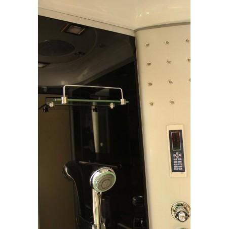 Cabina dus cu hidromasaj 120 x 80 cm model 7106