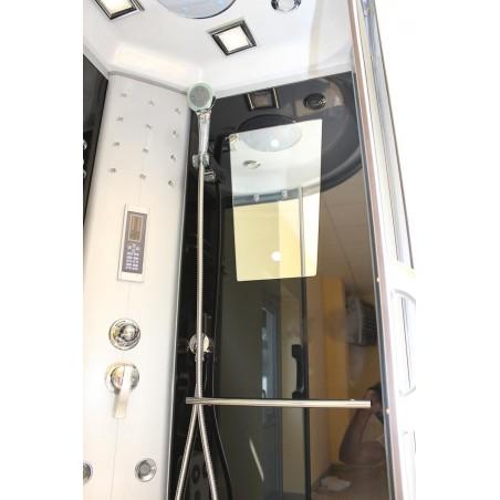 Cabina dus cu hidromasaj si sauna umeda model MayaS 80 x 80 cm