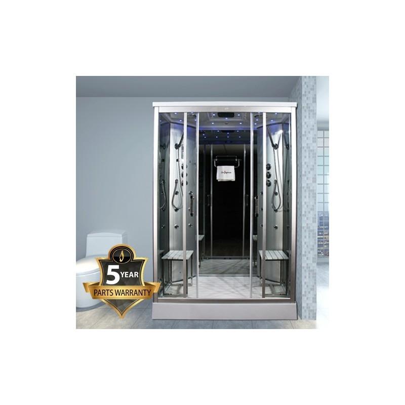 Cabina dus cu hidromasaj si sauna umeda model INS9005
