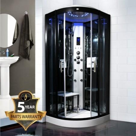 Cabina cu hidromasaj si sauna umeda model INS8727 90 x 90 cm