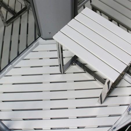 Cabina dus cu hidromasaj si sauna model PL9-QCF-TG-S 90 x 90 cm