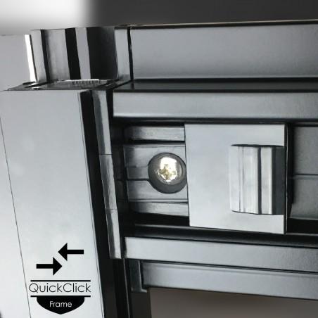 Cabina dus cu hidromasaj si sauna umeda model PR8-QBF-TG-S 80x80 cm