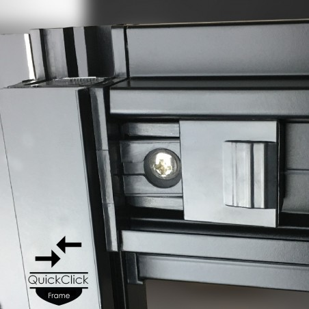 Cabina dus cu hidromasaj si sauna umeda model PL12L-OBF-CG-S 120 x 80 cm