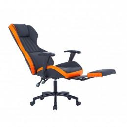 Scaun directorial US77 negru-portocaliu