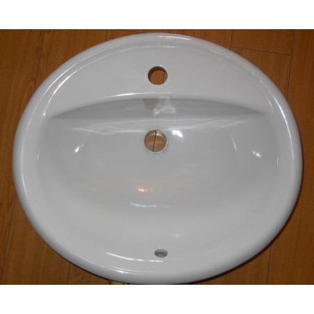 Lavoar incastrabil in blat 51 cm