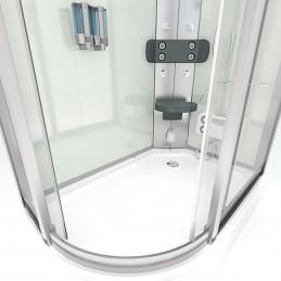 Cabina dus cu hidromasaj si sauna umeda 120x80 cm model CATA8060-7003L