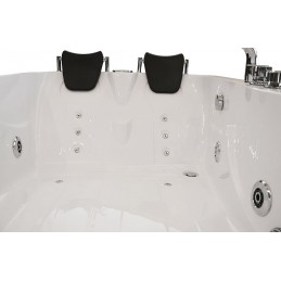 Cada baie cu hidromasaj 170x115 cm model CATA-0205