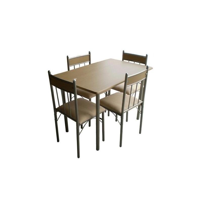 Set masa cu 4 scaune Teena