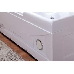 Cada baie cu hidromasaj si aeromasaj model 634 168 x 85 cm