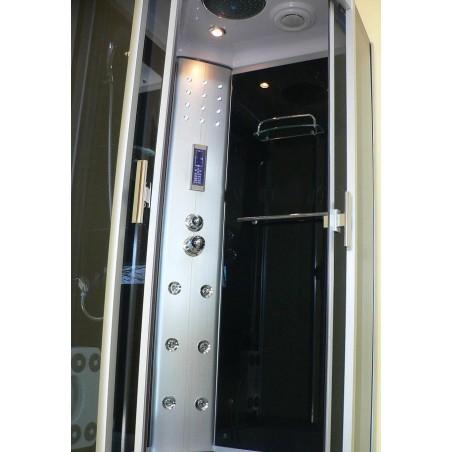 Cabina dus cu hidromasaj 90 x 90 cm model HER-8709