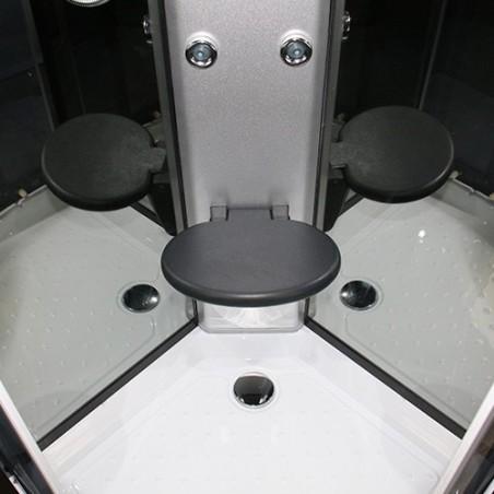 Cabina dus cu hidromasaj 80 x 80 cm model GT003