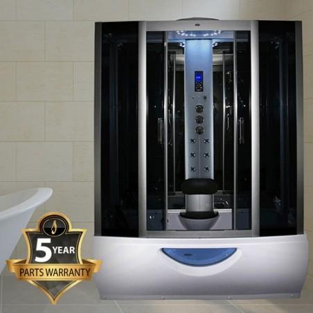 Cabina dus cu hidromasaj si sauna model  INS1057 165 x 85 cm