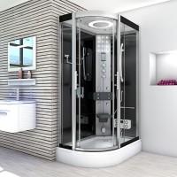 Cabine hidromasaj 80 x 120 cm cu sauna umeda , sticla securizata de 5-6 mm